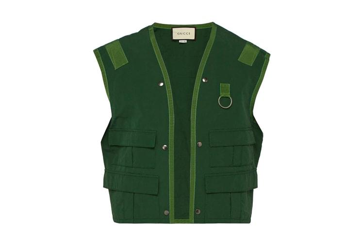 a2c48d919d2b Supreme 25th Anniversary Swarovski Box Logo Collection · Gucci Releases a  $2,000 USD Fishing Vest