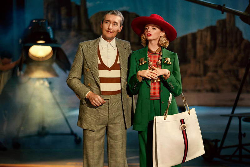 d48586c24bc Gucci s Spring Summer 2019 Campaign Evokes Old Hollywood Glamour. Classic  musicals inspired the creative direction.
