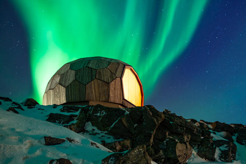 Hammerfest Hiking Cabins Provides Perfect Resting Spots For Hikers images Norway SPINN Arkitekter Norwegian Trekking Association