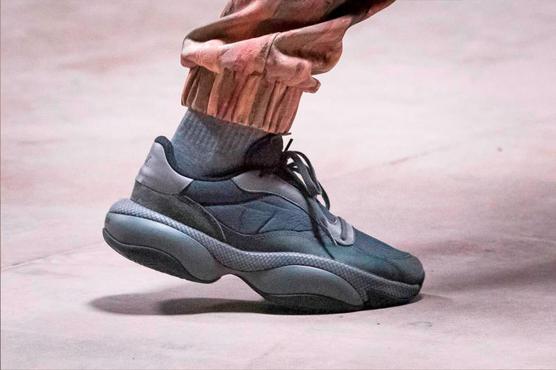 Han Kjobenhavn x PUMA Alteration PN-1 Sneaker Jannik davidsen co.creative yellow dark gray suede leather fall/winter 2019 fw19 shoe info