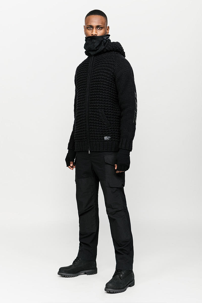 HAVEN Fall Winter 2019 Collection Lookbook Toronto Vancouver Canada Jacket Vest Sweater Shirt Beanie Pants Primaloft CORDURA Polartec