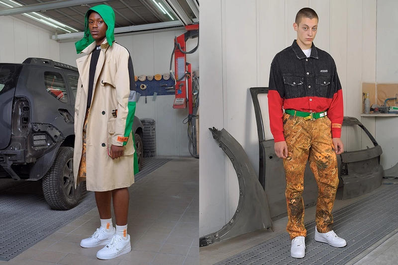 heron preston spring summer 2019 lookbook ss19 collection clothes outerwear jackets shirts coats info details line