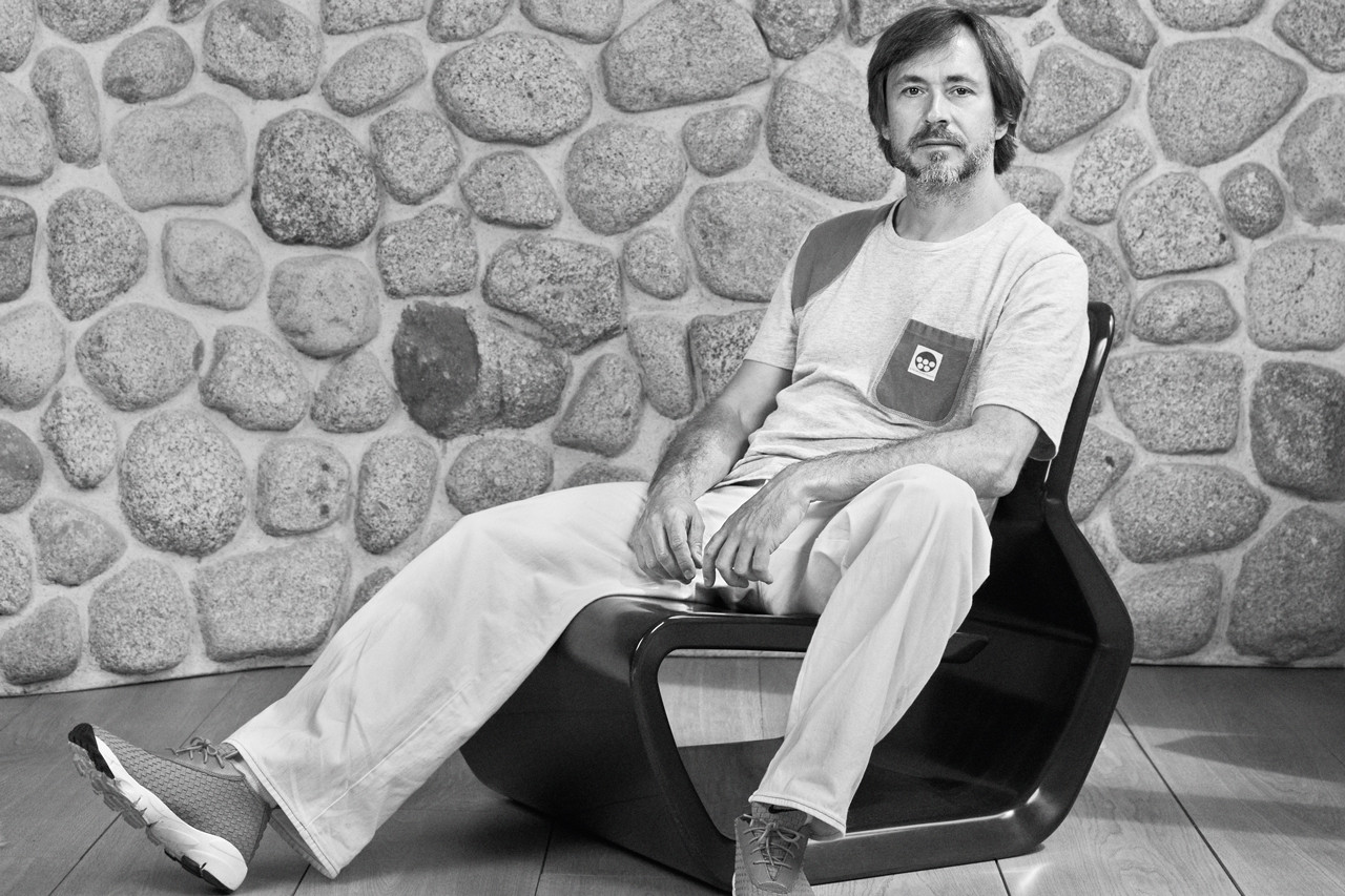 Hiroshi Fujiwara Marc Newson Gagosian Interview fragment design louis vuitton snowboarding