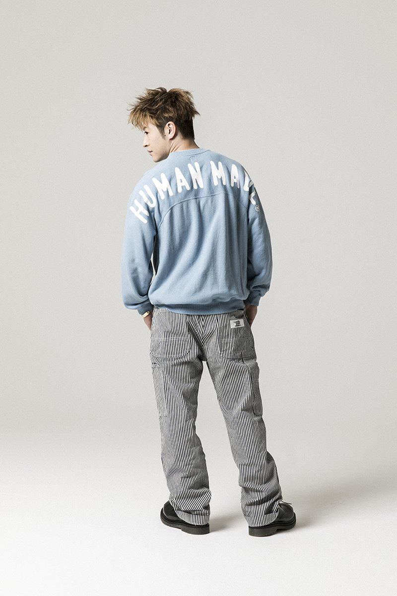 Human Made Spring Summer 2019 Lookbook collection clothing jackets coats pants denim jeans bomber shirt button made