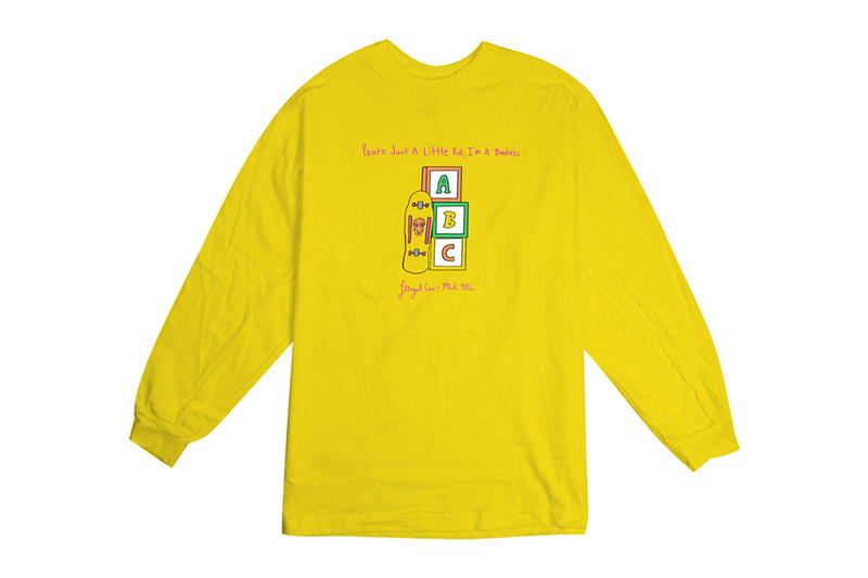 illegal civilization mid 90s t shirt jonah hill fashion film entertainment 2019 january yellow abc alphabet blocks mikey alfred tee You're Just a Little Kid I'm a badass