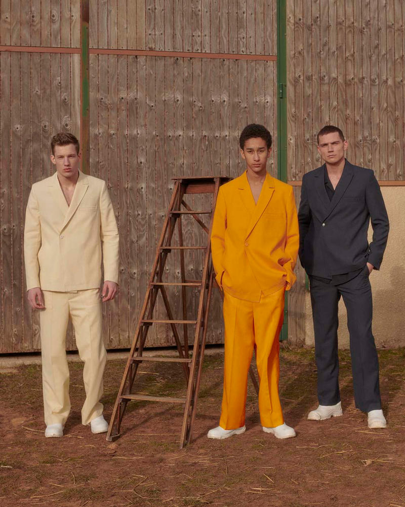 Jacquemus Fall/Winter 2019 Collection Lookbook french fitted suits paris fashion week