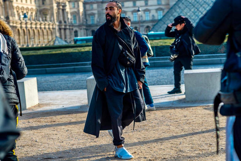 76aa3e5a Jerry Lorenzo Spotted Wearing Rumored Nike Air Fear of God Moccasin