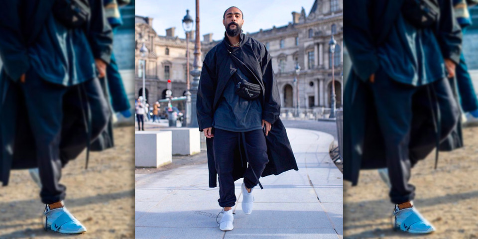 2661a777 Jerry Lorenzo Nike Air Fear of God Moccasin On-Feet | HYPEBEAST