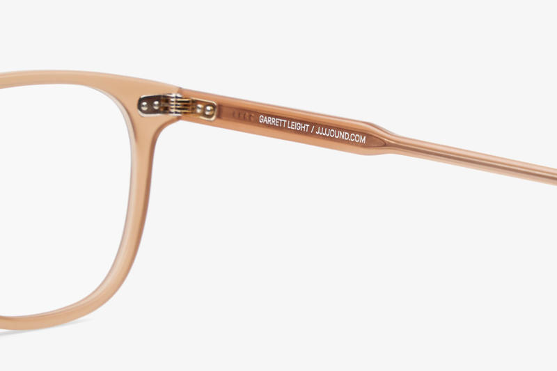 JJJJound Garrett Leight Brooks 47 Glasses collaboration 4j brown colorway release date drop buy info January 25 2019 eyewear lenses frames