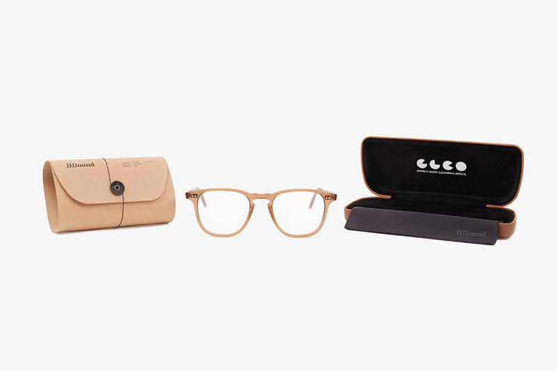 JJJJound Garrett Leight Brooks 47 Glasses collaboration 4j brown colorway release date drop buy info January 25 2019 eyewear lenses frames