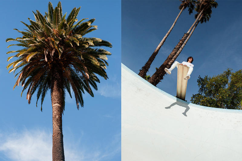 John Elliott Spring/Summer 2019 Lookbook basics staples sweats denim collection release info pricing date jewelry acceessories jackets sweaters los angeles M.A.R.S bougainvillea flowers made in LA