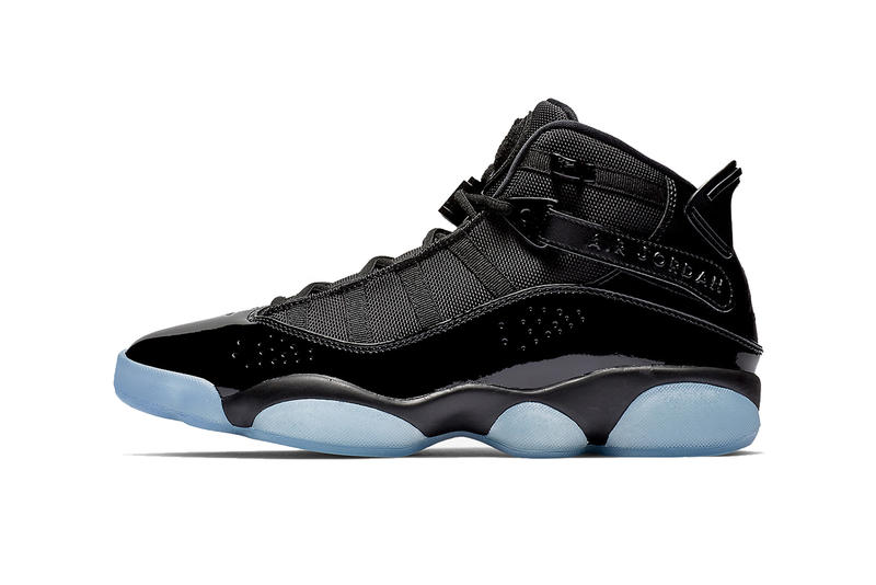 825929ef040fb1 jordan 6 rings cap and gown black white black 2019 footwear jordan brand