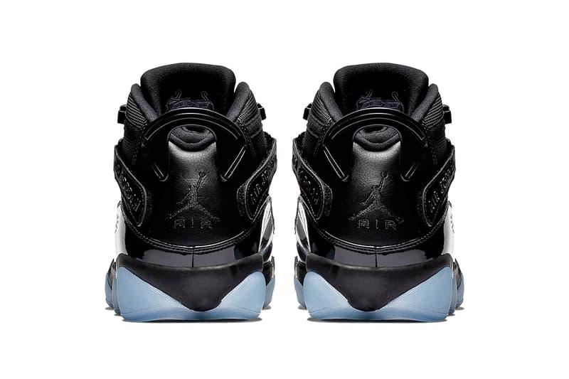 jordan 6 rings cap and gown black white black 2019 footwear jordan brand
