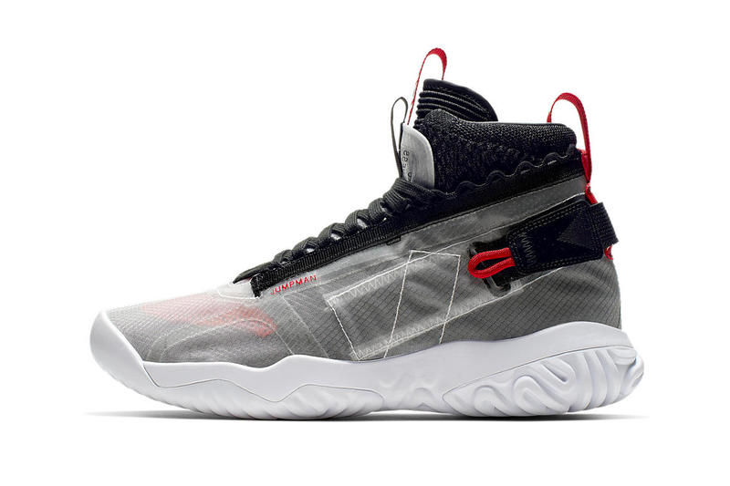 Air Jordan Apex Utility Official Look jordan brand sneakers black red Flight Utility Flyknit air jordan 1