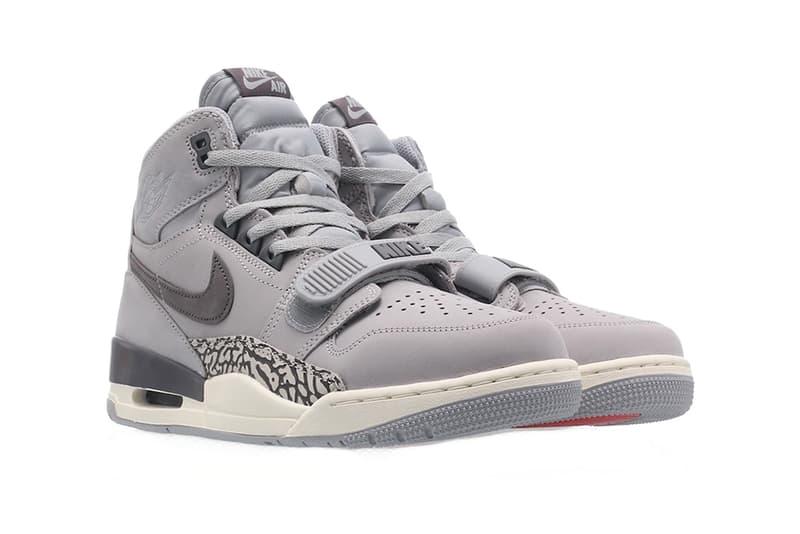 jordan legacy 312 wolf grey 2019 footwear jordan brand wolf grey light graphite sail