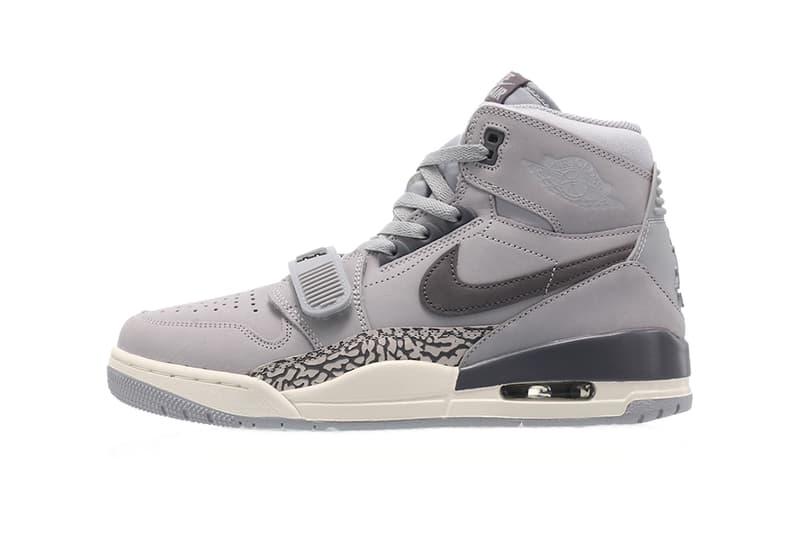 49307473c66198 jordan legacy 312 wolf grey 2019 footwear jordan brand wolf grey light  graphite sail. 1 of 3. Sneaker Bar Detroit