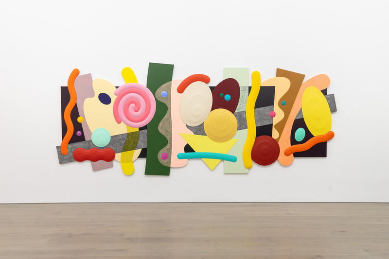 josh sperling big time exhibition galerie perrotin new york city artworks paintings sculptures