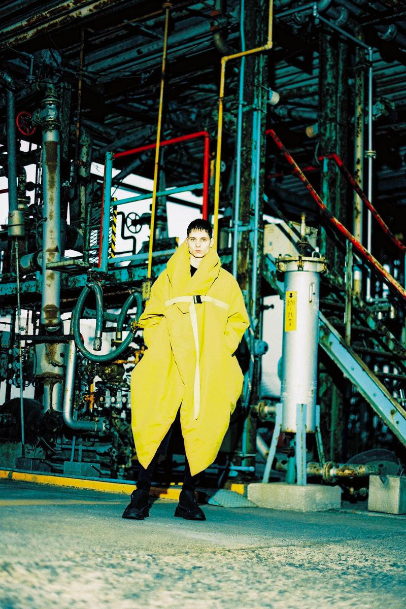 JULIUS Fall Winter 2019 Collection Lookbook Techwear Jackets Tatsuro Horikawa Japanese
