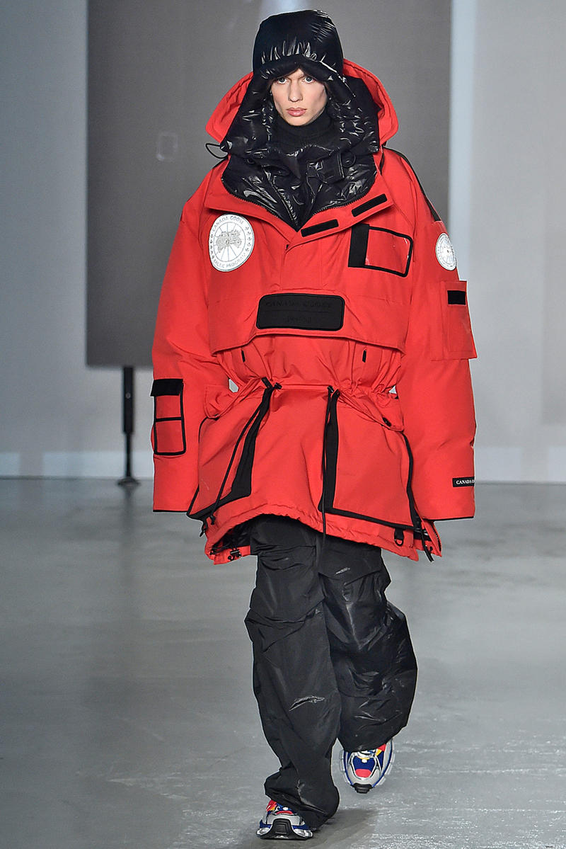 JuunJ juun j Fall Winter 2019 Collection fw19 line info information details runway mens menswear canada goose clothes clothing outerwear jackets coats shirts pants