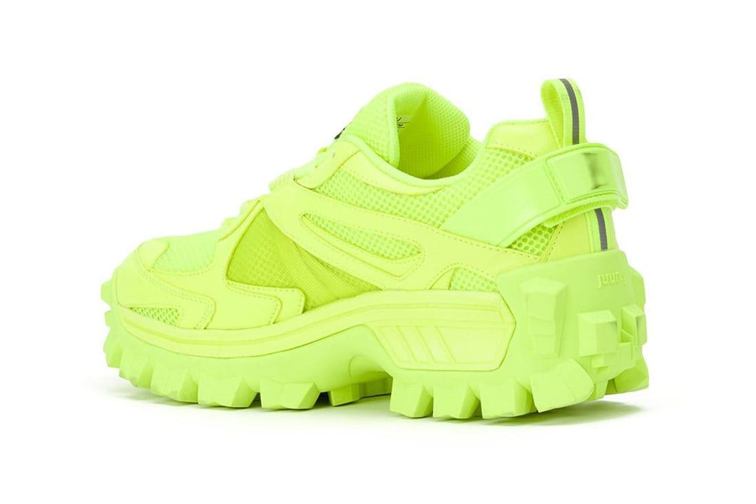 JUUN.J Volume Trainer 3 Sneaker in Neon