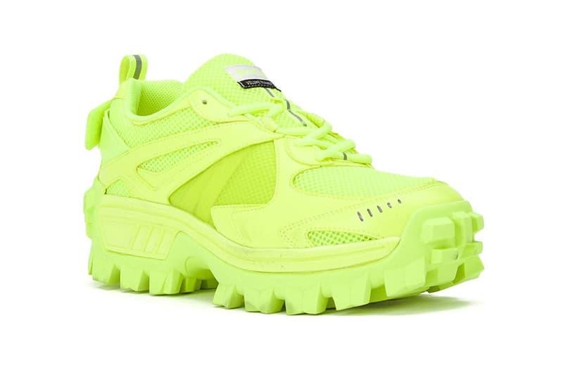 juun j low cut neon green sneakers 2019 january footwear