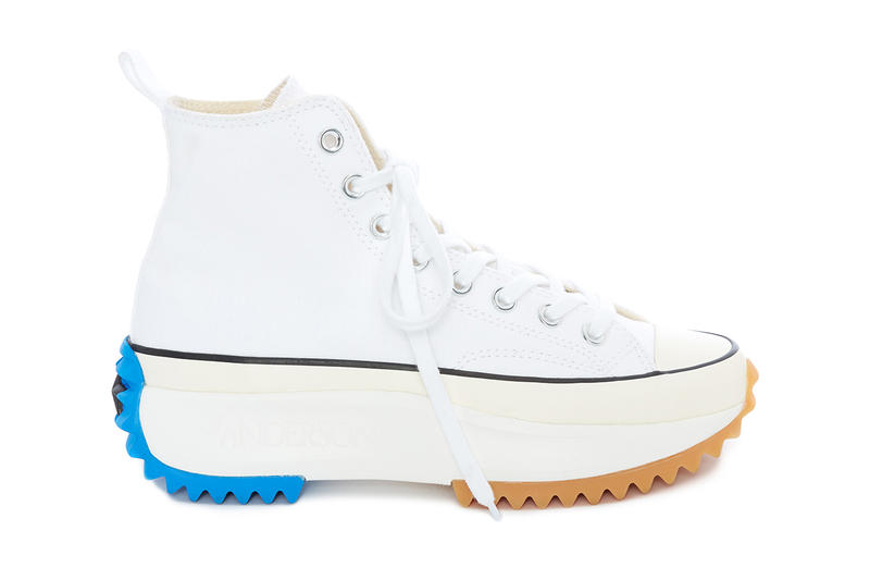 a3a58fe2f21e An Exclusive Closer Look at JW Anderson x Converse SS19 Run Star Hike in  White