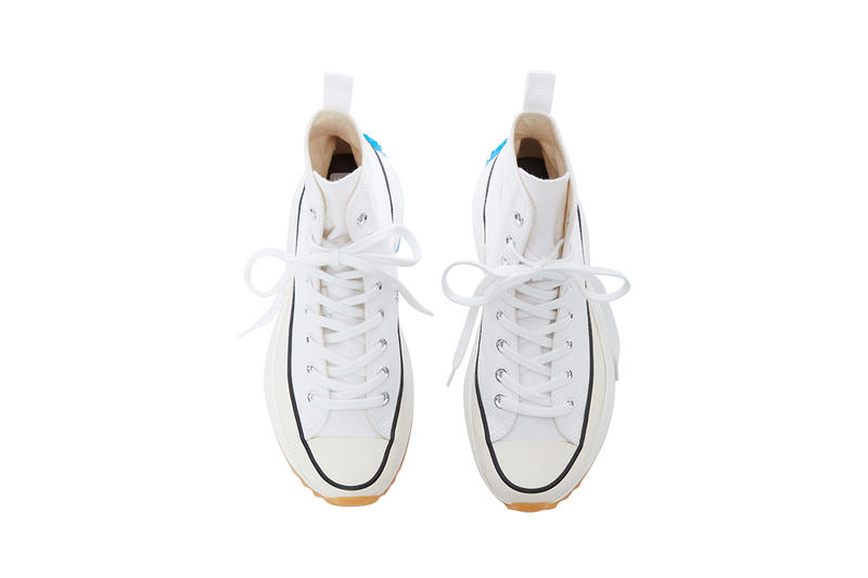 JW Anderson Converse Run Star Hike White Closer Look Release Date Official Details Pre Order Sale News Images Chuck Taylor All Star 70 Platform