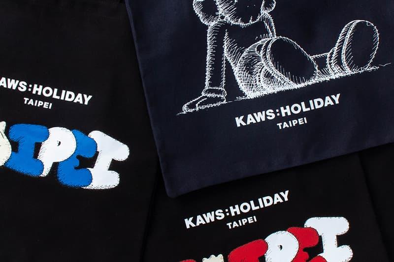 KAWS Holiday Artwork Taipei First Look