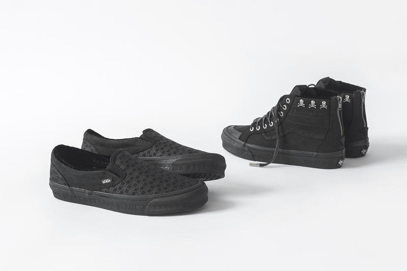 kith mastermind world vans 2019 january footwear sk8 hi zip lx old skool lx og classic slip on ronnie fieg feig skulls skull crossbones