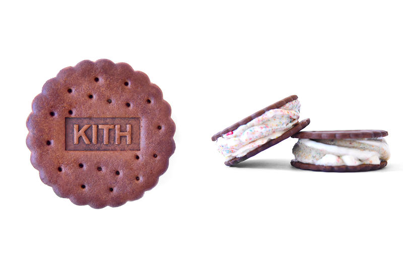 KITH Treats Cereal Infused Ice Cream Sandwich Capsule Release Info Date T shirt Hoodie red black blue grey Ronnie Fieg