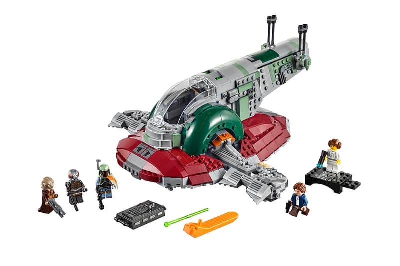 Lego Star Wars 20 Year Anniversary Iconic Ships star wars anakin Skywalker Darth Vader jango Fett Han Solo