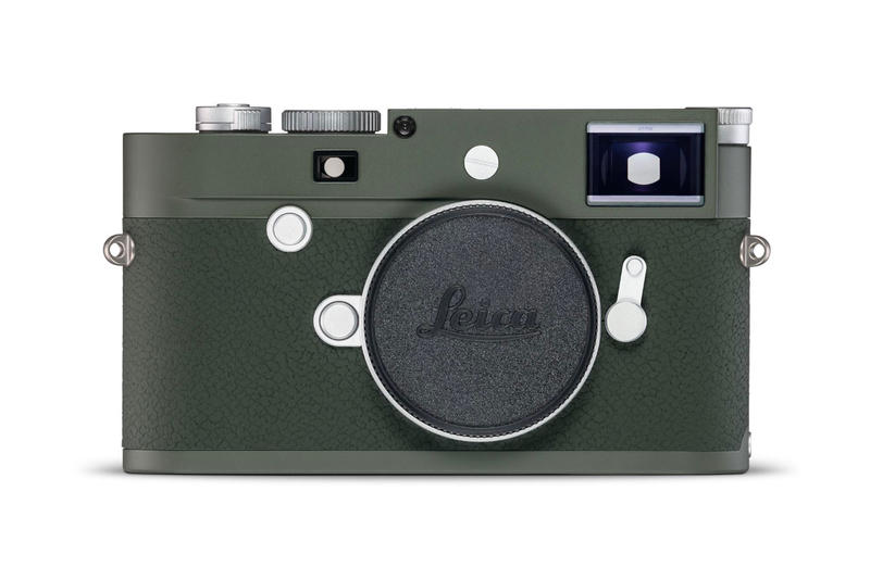 Leica Presents the Limited Edition 'Safari' M10-P Camera Summicron M 50 f2 lens olive green price images drop release date info detail