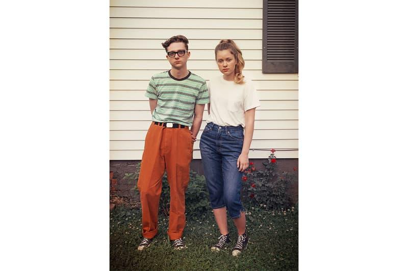 890c06c9bd44 Levis Vintage Clothing Spring Summer 2019 Collection Lookbook t shirt  baseball jacket coat jeans images