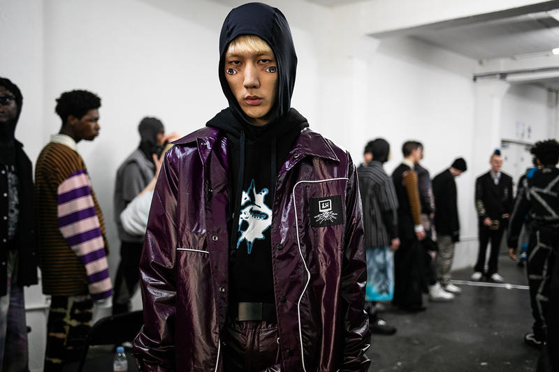 Liam Hodges Fall Winter 2019 Lfwm Backstage Hypebeast