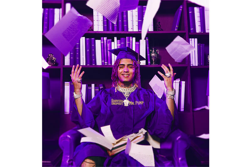 Lil Pump Harverd Dropout Cover Release Date Announcement Butterfly Doors Info February 22