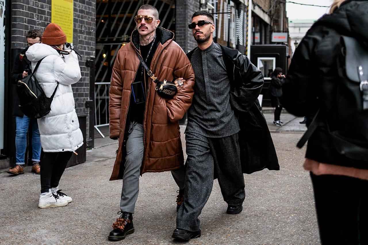London Fashion Week Men\u0027s FW19 Best Street Style