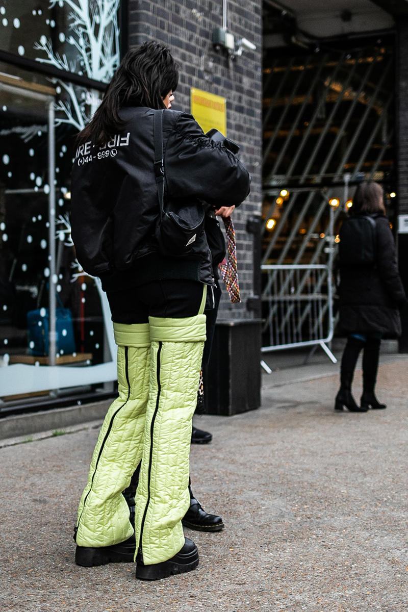 London fashion week men's lfwm street style snaps best of photography dressed prada raf simons martine rose nike a-cold-wall burberry fendi