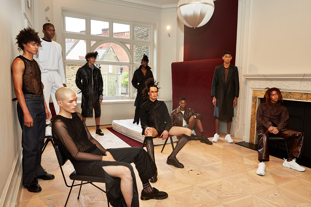 5 Things You Missed at London Fashion Week: Men's FW19 Charles Jeffrey Loverboy Story Mfg Bianca Saunders Wood Wood Nicholas Daley