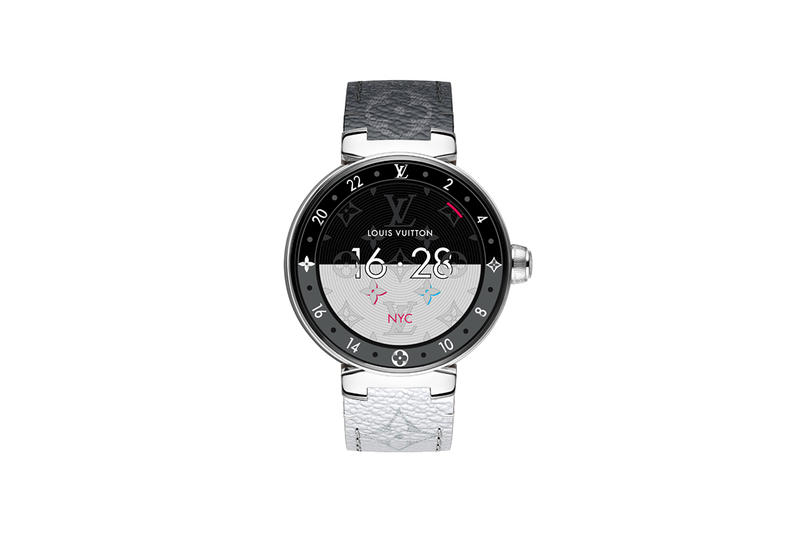 Louis Vuitton 2nd Gen Tambour Horizon Smartwatch google assistant apps digital snapdragon paris fashion tech