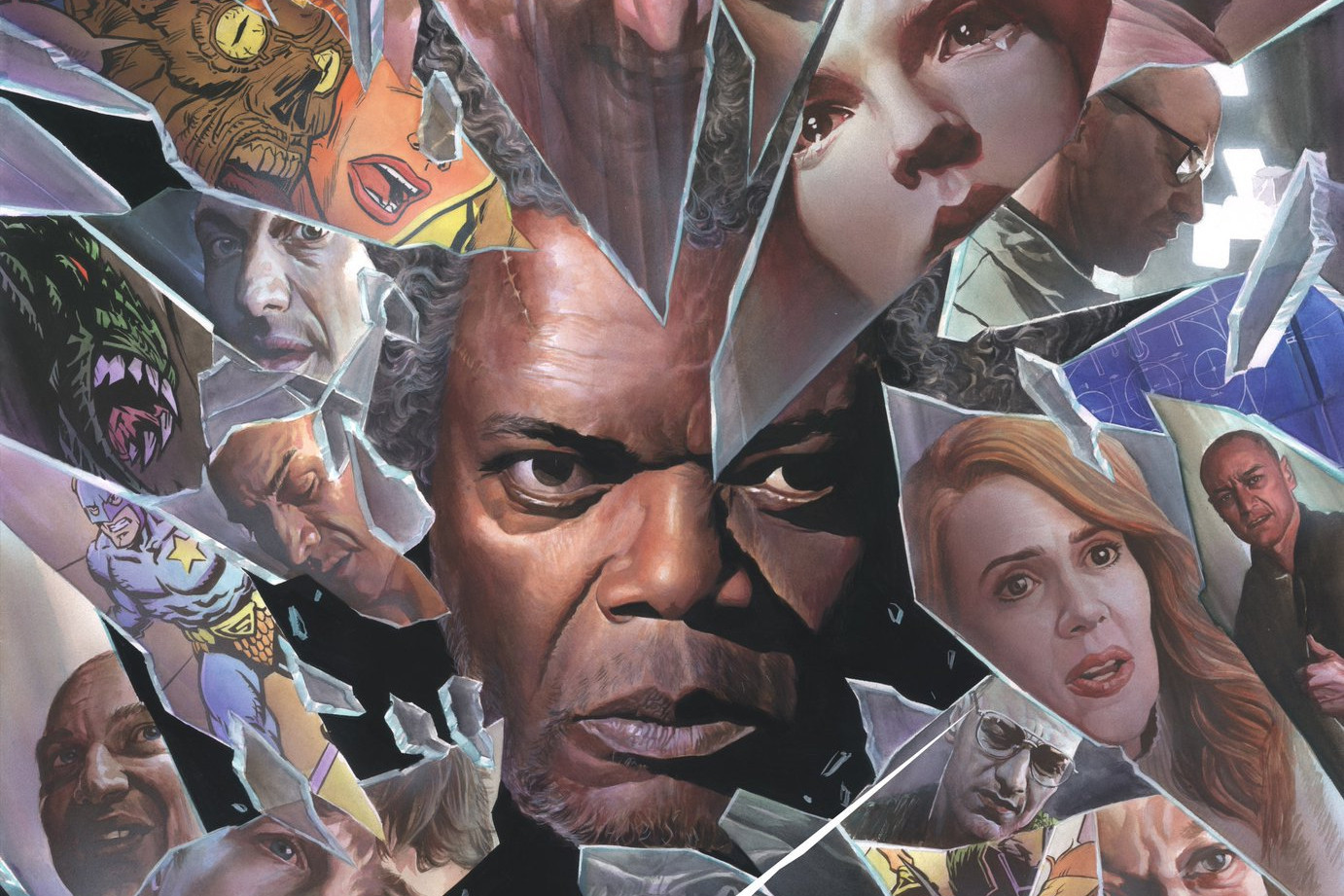 M. Night Shyamalan Glass Review Split Unbreakable Samuel L. Jackson Mr. Glass Bruce Willis James McAvoy January 18 2019 Mr. Glass The Overseer The Beast The Horde