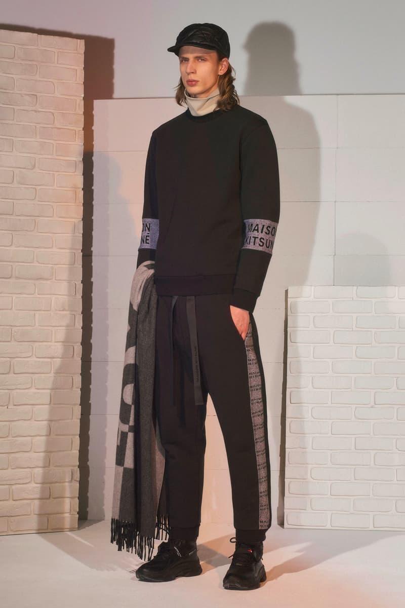 Maison Kitsuné Fall/Winter 2019 Lookbooks paris fashion week Yuni Ahn celine