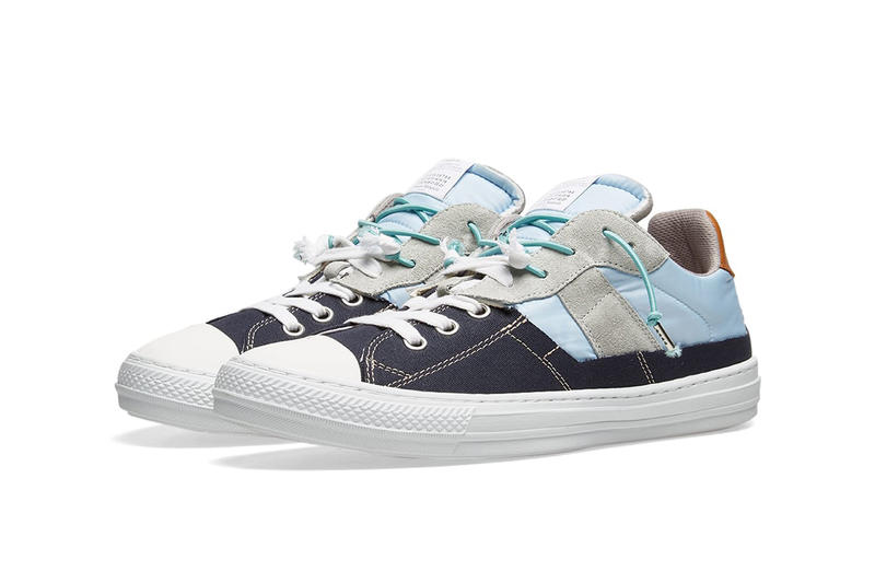 Maison margiela 22 2 in 1 low sneaker gat german army trainer converse chuck taylor canvas leather rubber martin buy release date info spring summer 2019 colllection pre