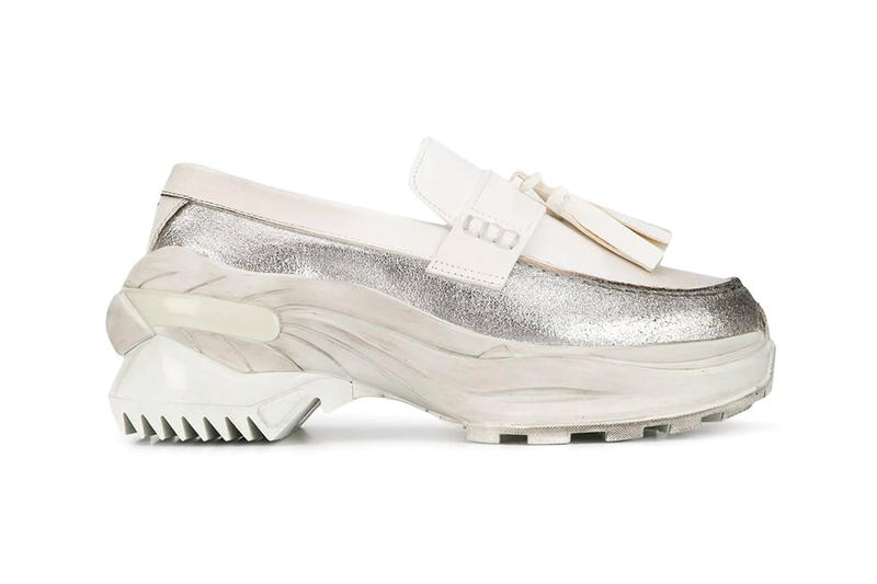 c11c40e7aad Maison Margiela Reinterprets Formal Attire With Ridged Sole Loafers