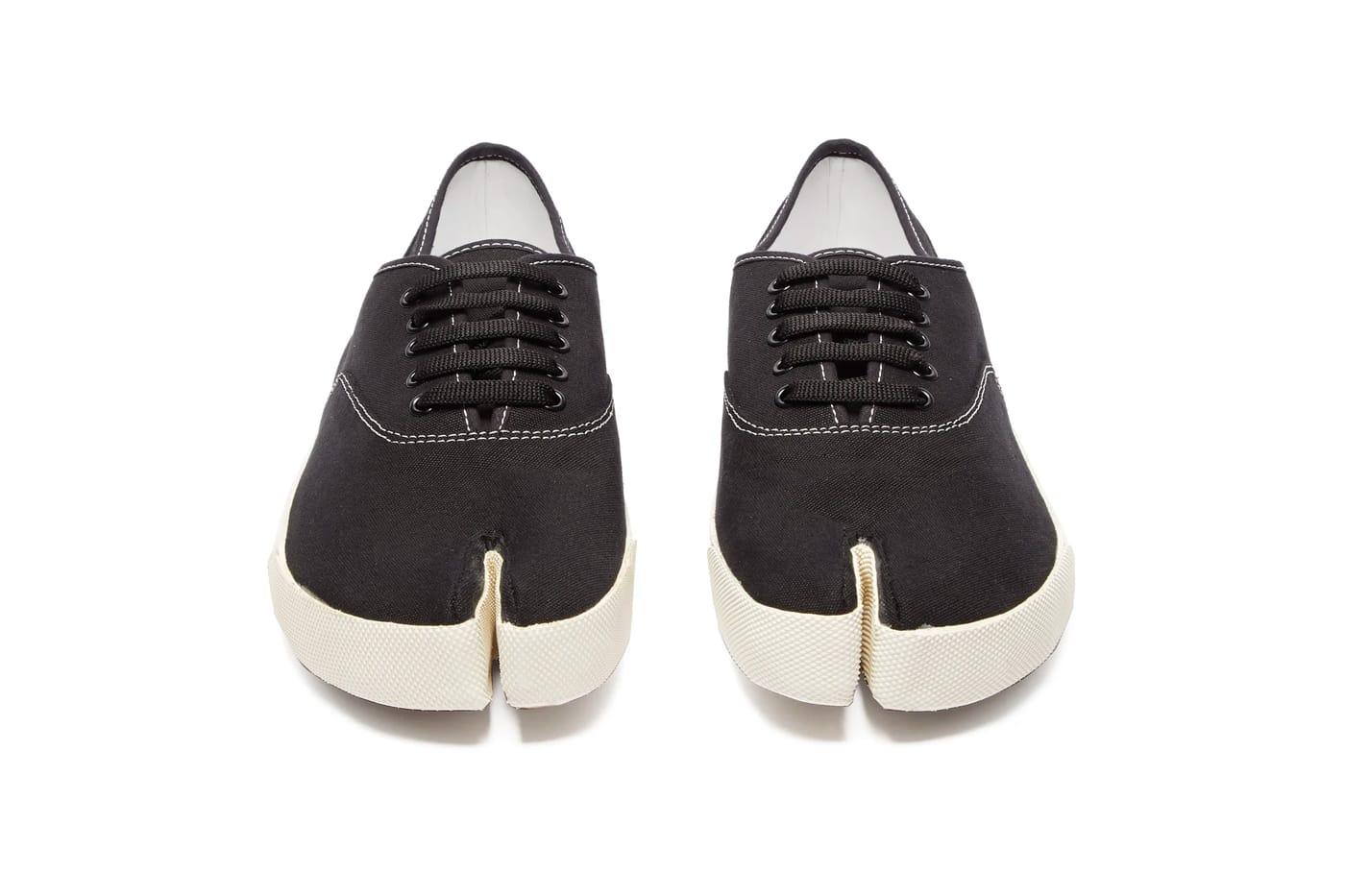 margiela toe shoes