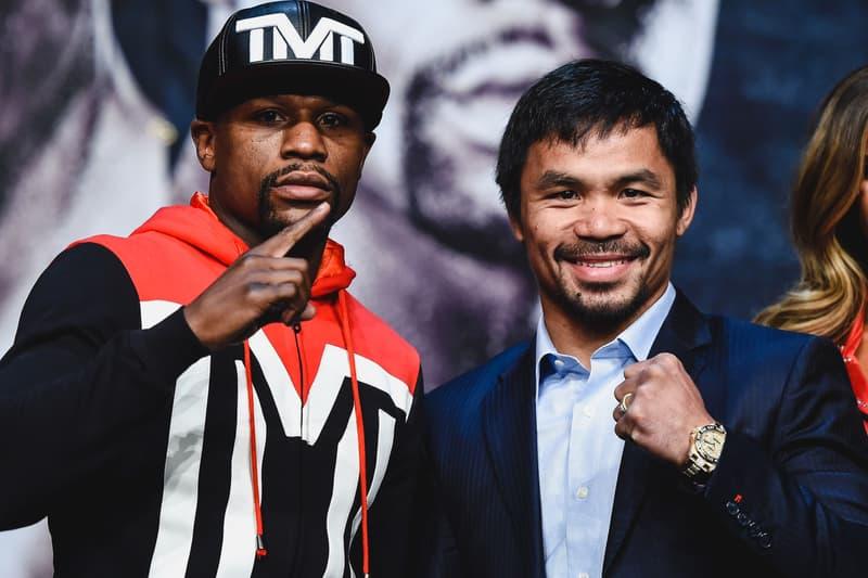 Manny Pacquiao Floyd Mayweather Tenshin Nasukawa Winn Diss boxing kickboxing sports