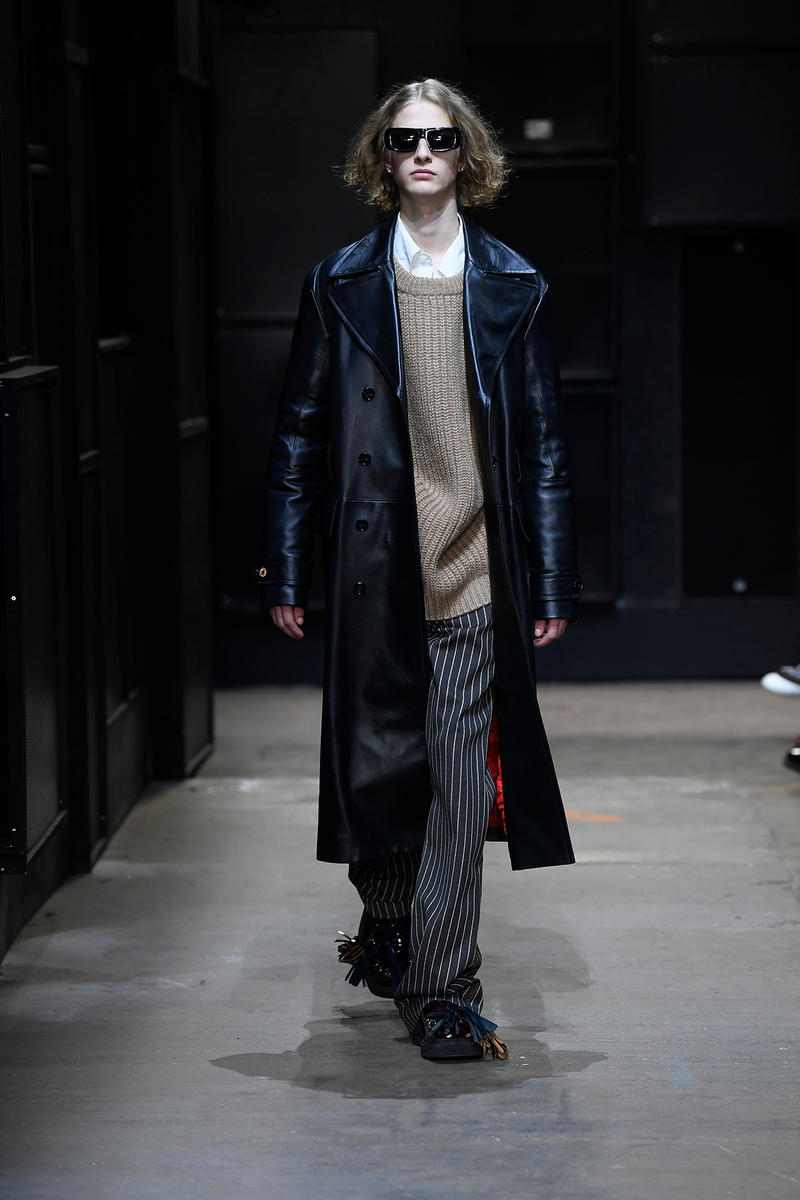"Marni Debuts ""Neuro-Tribe"" FW19 Collection at Milan Fashion Week runway looks images info men's"