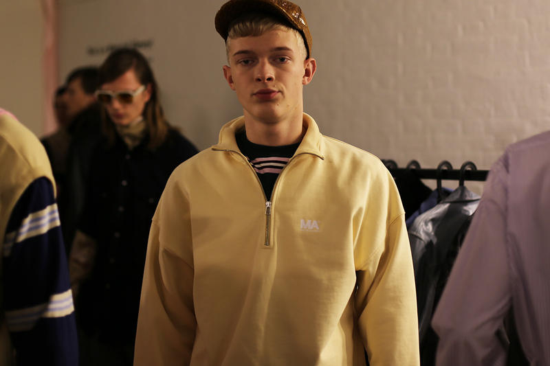 Martin Asbjorn Copenhagen Fashion Week Backstage Clothing Exclusive First Look CPH Asbjørn First look closer
