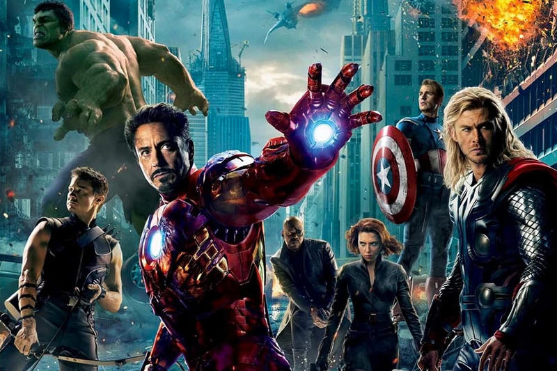 The Avengers Cast Joins #10YearChallenge marvel studios comics ironman thor black widow captain america tony stark steve rogers natalia romanova film mavel cinematic universe