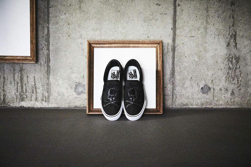 mastermind japan vans slip on collaboration sneaker shoe california dept japan january 6 9 2019 release date info drop buy off the wall