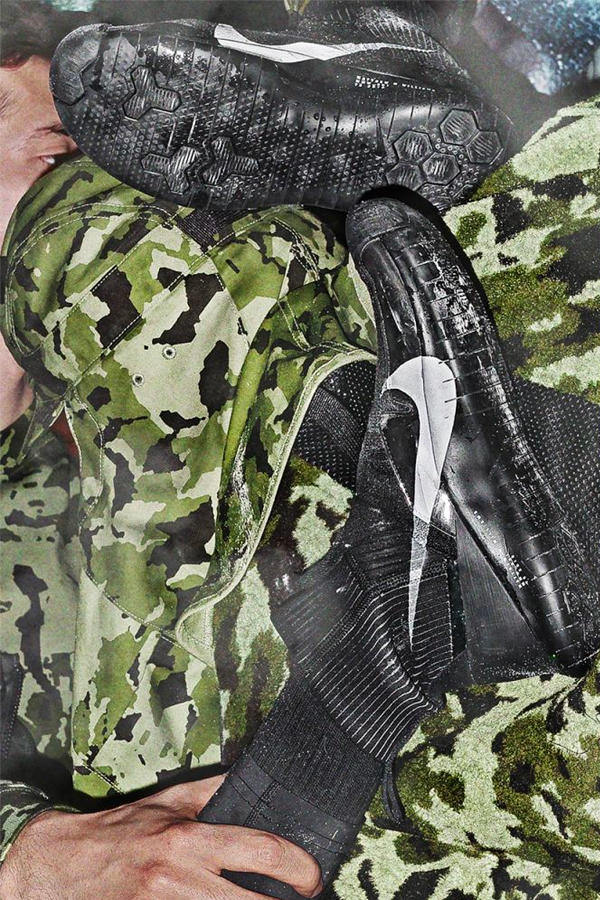 Matthew M. Williams Nike Second Collection Lookbook military camo sneakers shoes hat jacket shirt gloves pants